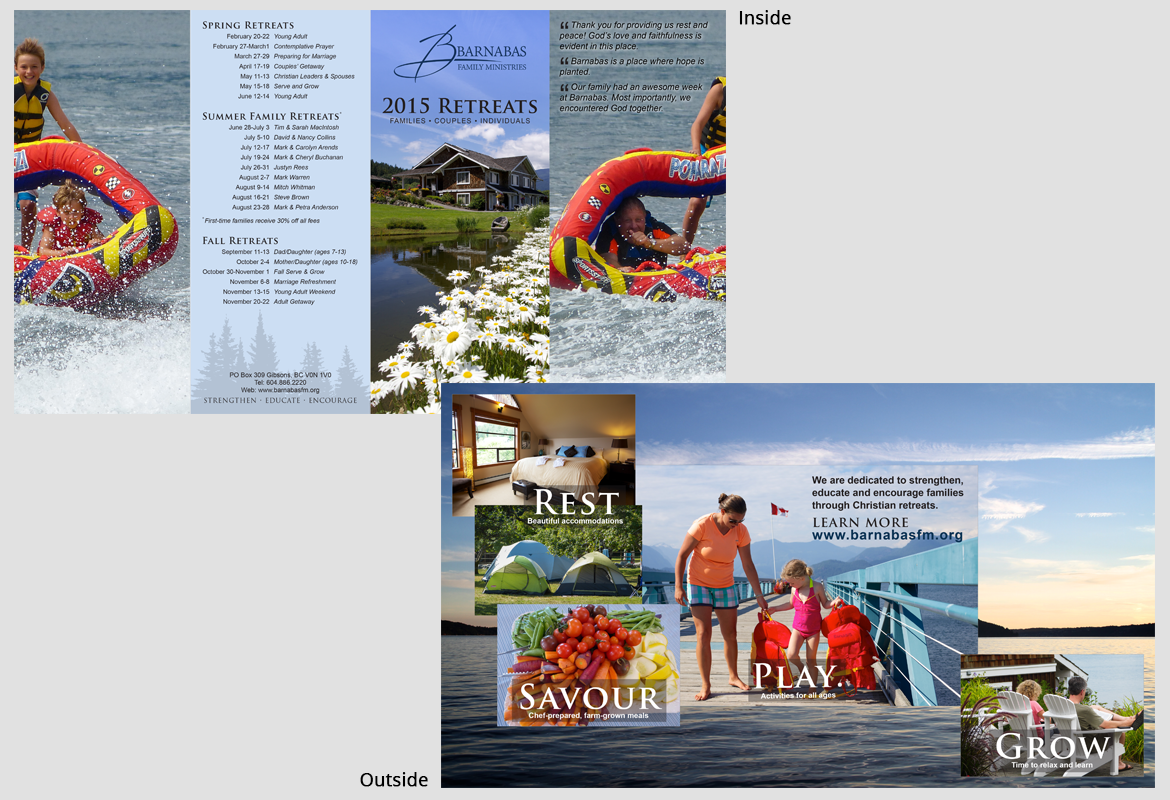 Barnabas Family Ministries - 2015 Brochure