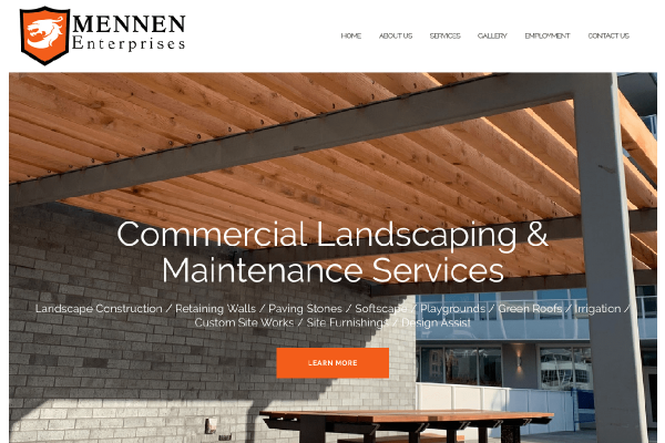 Mennen Enterprises website