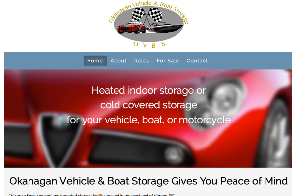 Okanagan Vehicle & Boat Storage